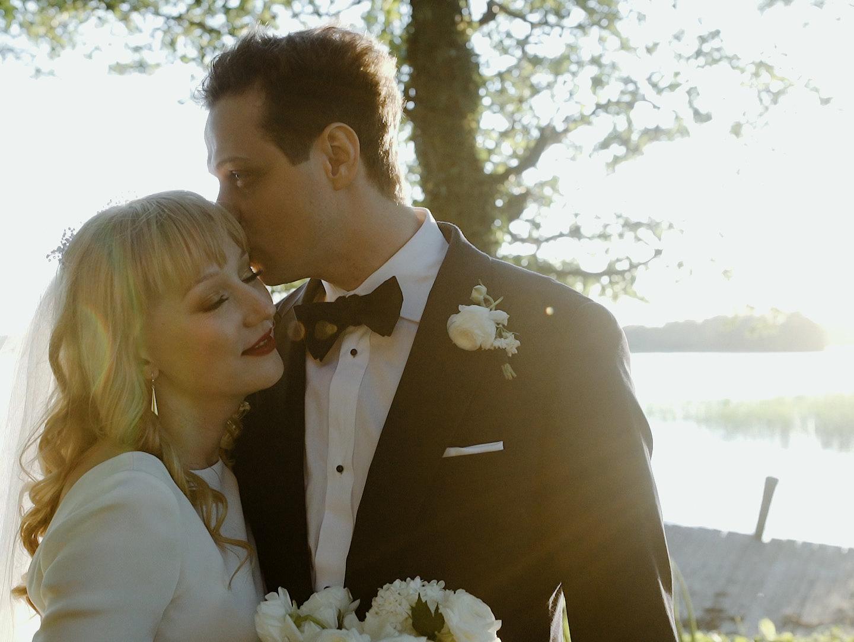 wesele nad jeziorem miedzy deskami tomaszkowo michał sikora film ślubny