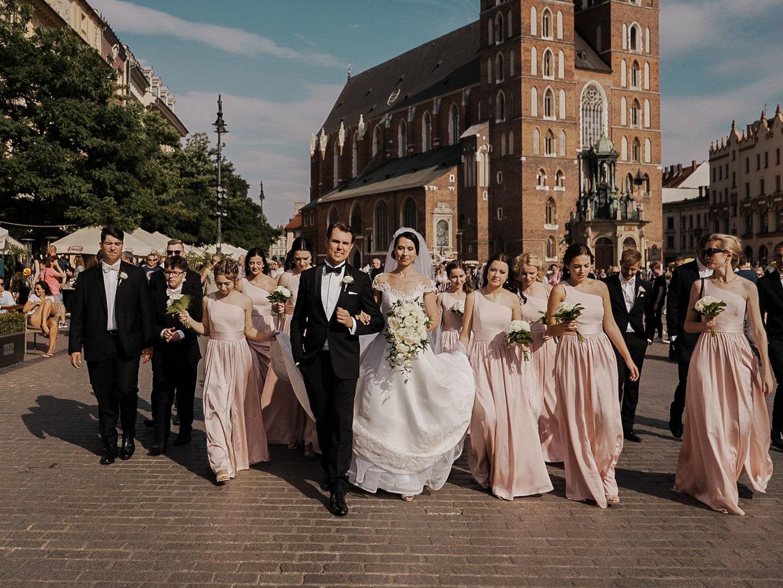 Ślub glamour Grand Hotel Kraków