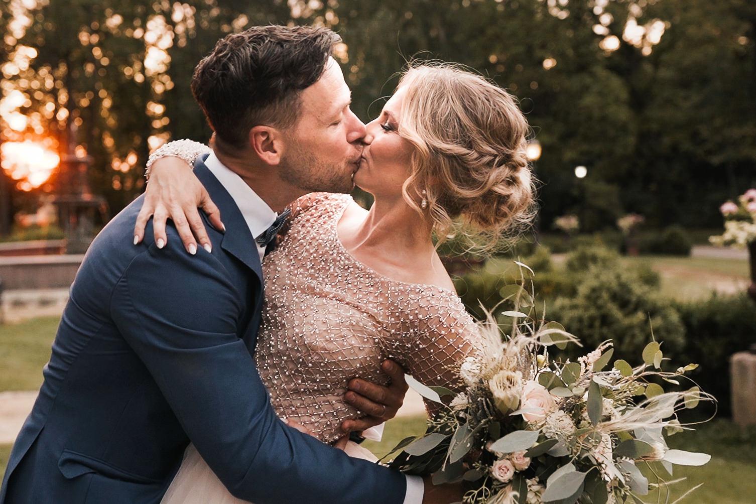 Elegancki ślub Pałac Tłokinia